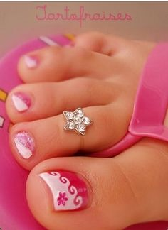 cute toe nails CLICK.TO.SEE.MORE.eldressico.com