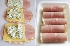 » Rulouri cu sunca, cascaval si branzaCulorile din Farfurie Baby Food Recipes, Meat Recipes, Cooking Recipes, Weight Watchers Appetizers, Good Food, Yummy Food, Romanian Food, Food Tasting, Keto Snacks