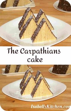 The Carpathians cake recipe (video recipe) - isabell's kitchen