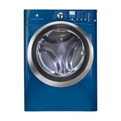 Who says your washing machine can't be a fashion statement? Electrolux Blue Frontload Washer
