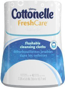 Cottonelle Wipes - Awww yeah!