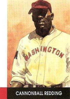 1990 Eclipse Stars of the Negro Leagues Cannonball Redding Diamonds In The Sky, Baseball Art, Trading Card Database, Mlb, Stars, Gallery, Black, Roof Rack, Sterne