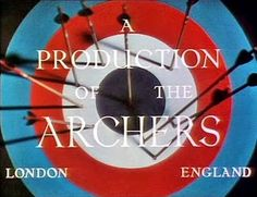 Target announcing A Production of The Archers.