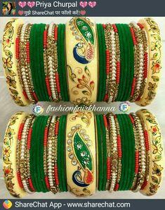 Designer Bangles, Bridal Chuda, Rajputi Jewellery, Just Love, Blouse Designs, Jewelery, Gallery, Bracelets, Dress