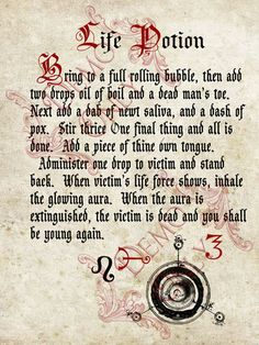 Photo 18 of 67 from Spell, Hexes and Charms ~book of spells~ - Pinned by The Mystic's Emporium on Etsy