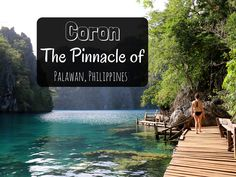 If Palawan is The Most Beautiful Island in the World, then Coron is surely the cherry on this gorgeous piece of paradise. However, it's not the endless beauty