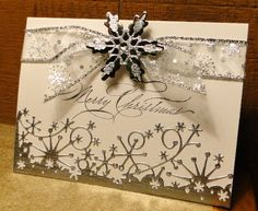 Frosty Merry Christmas by jasonw1 -  Stamp - Stampin Up Hand-Penned Holidays Cards and Paper Crafts at Splitcoaststampers