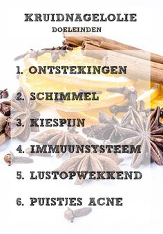 Kruidnagelolie doeleinden - Alles Over Mondgezondheid 2020 Diffuser Blends, Oil Diffuser, Terra Oils, Young Living Oils, Kitchen Witch, Diy Beauty, Aromatherapy, Body Care, Health And Beauty