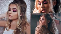 ARIANA GRANDE SIDE TO SIDE MUSIC VIDEO • HAIR & MAKE UP! Another inspired…