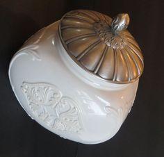 Lenox Butleru0027s Pantry Buffet Cookie Jar With Metal Lid, Mint