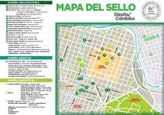 Mapa Sello DC! (Diseño Cordobés) 2014