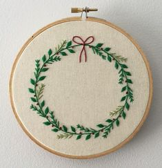 Hand embroidery - Christmas!