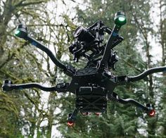 Give your indie films a professional feel to them by capturing footage with the aerial cinematography drone. It provides unsurpassed stability and is designed to be compatible with a number of various cameras ranging from the Canon 5D to a RED Epic.
