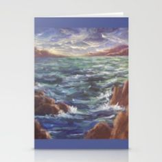 CSteenArt Store. Set of folded stationery cards printed on bright white, smooth card stock to bring your personal artistic style to everyday correspondence.  Each card is blank on the inside and includes a soft white, European fold envelope for mailing.