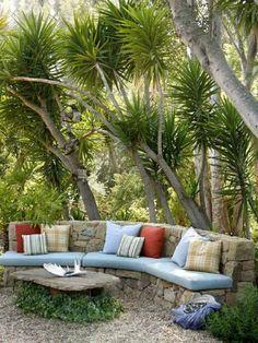 ides dco terrasse 47 beaux exemples dinspiration - Pierre De Jardin Decorative