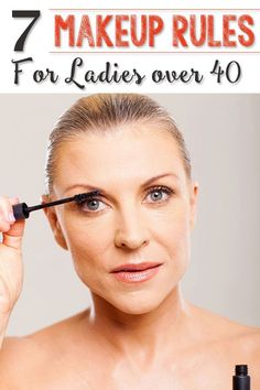 7 Makeup Rules for Ladies over 40 ==