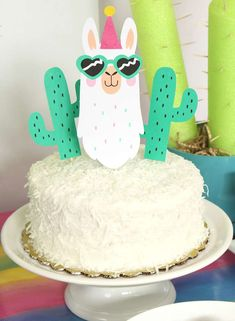 Check out the cool birthday cake at this fun Llamas birthday party! See more par… Check out the cool birthday 18th Birthday Party Themes, Mexican Birthday, Cool Birthday Cakes, Frozen Birthday Party, Unicorn Birthday Parties, Llama Birthday, 1st Boy Birthday, Summer Party Decorations, Birthday Party Decorations