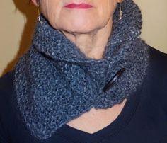 Une semaine à Paris-Forêt: Tricoter - les cols asymétriques pour les grandes Paris, Knitting, Bandeau, Tutorial, Moment, Voici, Easy, Fashion, Ponchos