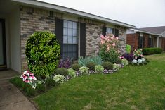 landscaping ideas for front of house - Google Search