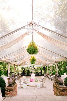 Glamorous Tented Garden Wedding   Annabella Charles Photography