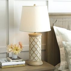 "120 30 3/4""H X 16"" Diameter Mariette Table Lamp"