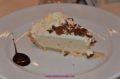 Carnival Elation, MDR Dinner, Cappuccino Pie,