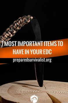 There are literally countless items that you can use in a survival situation. But what about the essential items that you would take with you everyday? Here are the 7 top items to carry with you every day. Survival Life, Survival Food, Wilderness Survival, Outdoor Survival, Survival Prepping, Survival Skills, Survival Hacks, Survival School, Preppers List
