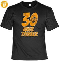 Cooles T-Shirt zum 30. Geburtstag - 30 Jahre Biertrinker - Geschenk zum 30. Geburtstag 30 Jahre Geburtstagsgeschenk (*Partner-Link)