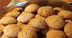 ΚΟΥΛΟΥΡΑΚΙΑ ΣΑΝ ΜΠΙΣΚΟΤΑ...ΜΕ ΤΑΧΙΝΙ ΚΑΙ ΣΟΥΣΑΜΙ..!! Νηστίσιμα... !! Έτοιμα σε 10 λεπτά που η νοστιμιά τους δεν περιγράφεται με λόγια..!! ΥΛ... Muffin, Breakfast, 21st, Food, Morning Coffee, Essen, Muffins, Meals, Cupcakes