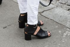 getting ready for summer – sandals | A Love is Blind - Paris Fashionweek ss2014 day1, outside Rochas