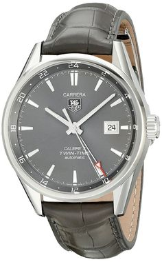 TAG Heuer Men's WAR2012.FC6326 Analog Display Swiss Automatic Gray Watch