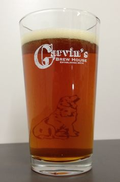 Testing the Garvin's Brewhouse two sided pint. Pint Glass, Brewing, Beer, Tableware, Root Beer, Ale, Dinnerware, Brow Bar, Dishes
