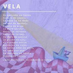 Poema de María Cristina Ramos, del libro Maíces de silencio. Map, Short Stories, Poems, Tuesday, Bouquets, Messages, Libros, Location Map, Maps