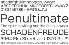 Free Font Of The Day : Sinkin Sans
