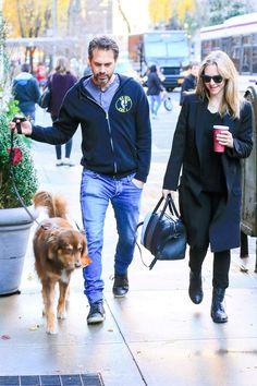 Amanda Seyfried Takes a Stroll With Fiancé Thomas Sadoski After Revealing Her Pregnancy News