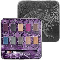 Urban Decay Mariposa Palette. Had this since the holidays and the purple color Rockstar is a must have deep burgundy purple. Love the mini brush too instead of the same old primer potion and zero liner. Another hit from Urban Decay exclusively at Sephora. #SephoraColorWash.