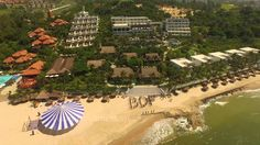 THE CLIFF RESORT From Above
