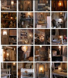 Just some of our primitive barn lamps and lighting here at Sweet Liberty Homestead!