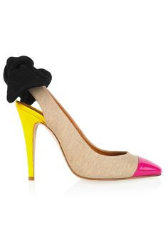 Carven Shoes  this is the color ispiration for my new bedroom!