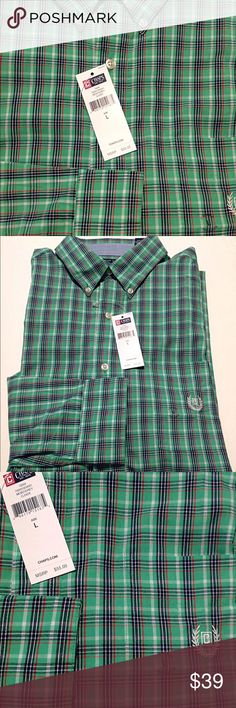 e91ad09588 Chaps Men's Shirt Sz L NWT CHAPS Brand Mens Shirt Condition: new with tags •