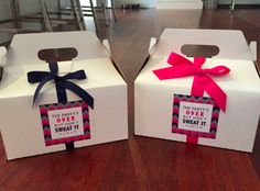 Cute & unique boxes to distribute Bar or Bat Mitzvah favors.