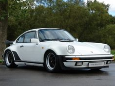 1988 PORSCHE 930 Turbo 3.3  White with Black                                                                                                                                                                                 More