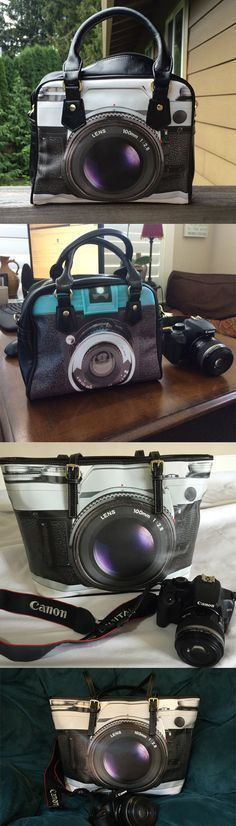 Everyone is loving their cute Vintage Camera Handbags and totes. Our customers get so many compliments on their bags. Check out the entire collection right now! #vintagecameras