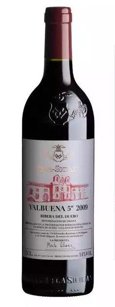 Valbuena2009es uno de los mejores vinos dela Ribera del Duero y uno de los mayorcalidad entre todos los elaborados ennuestro país.