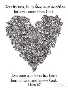 Love must be sincere coloring page Adult Coloring Sheets