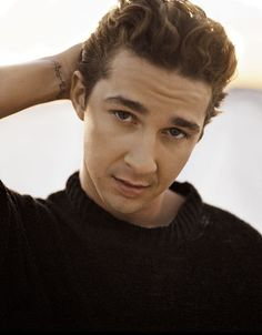 shia labouf. I'm admitting it,he's my famous crush! I've loved him since holes and time has definitely been very good to him;)