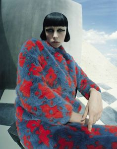 Edie Campbell by Tim Walker fore Vogue Italia December 2015 4