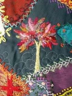 Robyne Melia's Crazy Patchwork Quilt