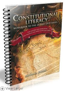 Constitutional Literacy Workbook by Michael Farris | This high-quality spiral-bound workbook is the companion curriculum to the Constitutional Literacy DVD series. The workbook contains lesson plans, vocabulary, additional instruction, study questions, and writing assignments - $33.00 | The HSLDA Online Store