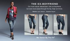 Plus Size Ex Boyfriend Jeans for Women | Torrid